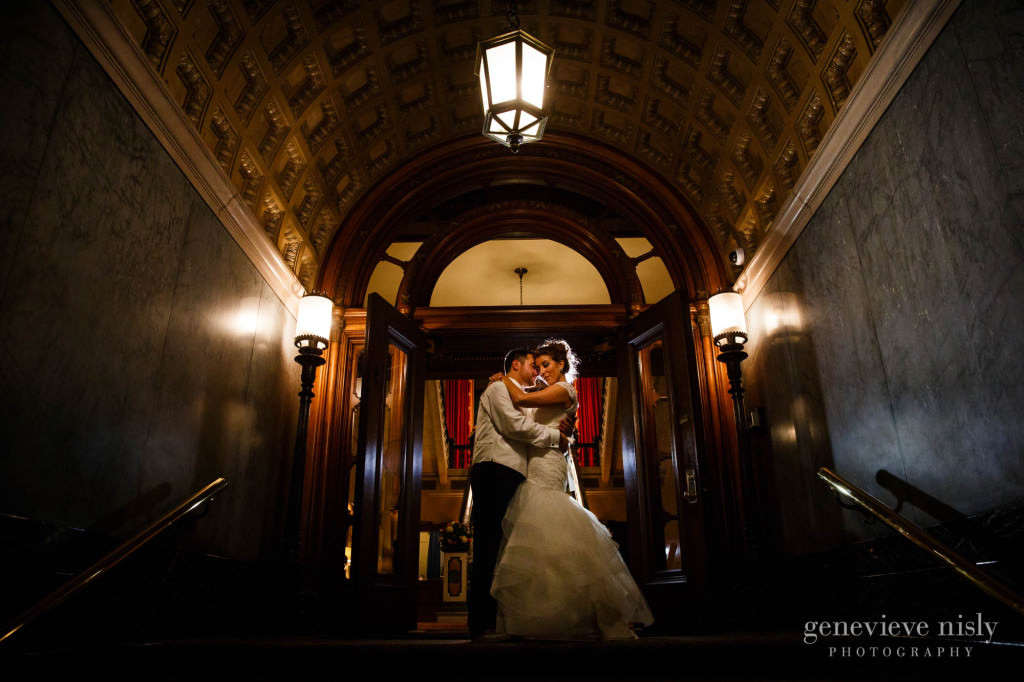 Cleveland, Fall, Ohio, Union Club, Wedding