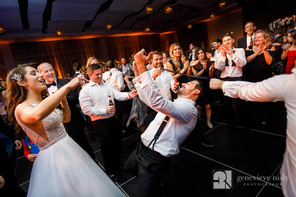 Cleveland, Wedding, Copyright Genevieve Nisly Photography, Ohio, Hilton Cleveland Downtown